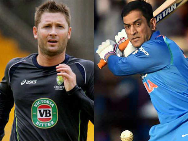 Dhoni S Experience Important India Says Australian Former Caption Michael Clarke