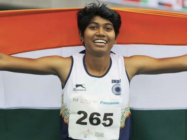 Chennai Government School Student Thabitha Wins Her Second Gold In Asian Youth Championships