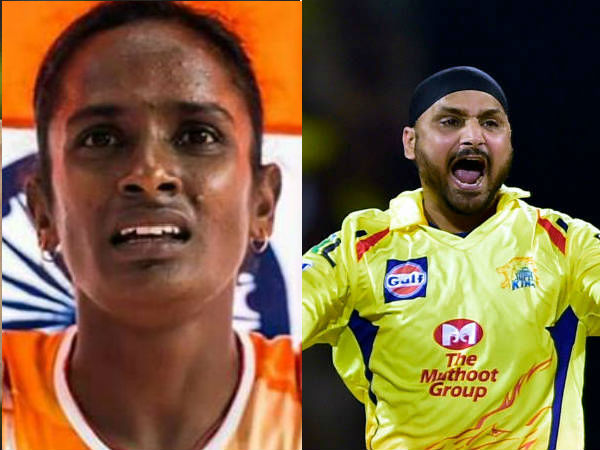 Harbhajan Singh Wishes Gomathi Marimuthu Who Won Gold Medal In Asian Athletics
