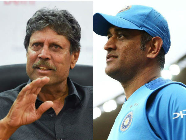 No Cricketer Has Served India Like Dhoni Says Former Captain Kapil Dev