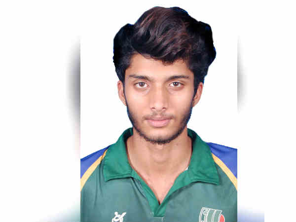 Asian cup qualifying cricket match, tamilnadu player mohamed nayeem selected