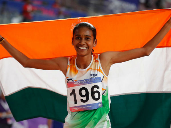 Asian Athletics Championships : P.U.Chitra fight for her place in court before she won gold