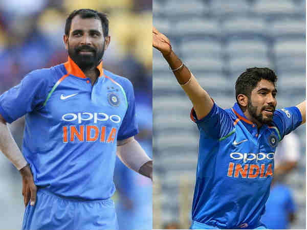 Mohammed Shami Jasprit Bumrah Among 4 Cricketers Recommende For Arjuna Award By Bcci
