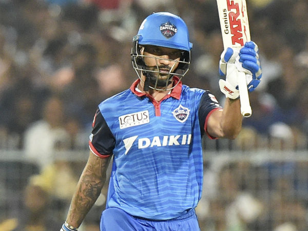 Dhawan Emphasises On Team Goals After Missing Maiden Century Against Kolkata