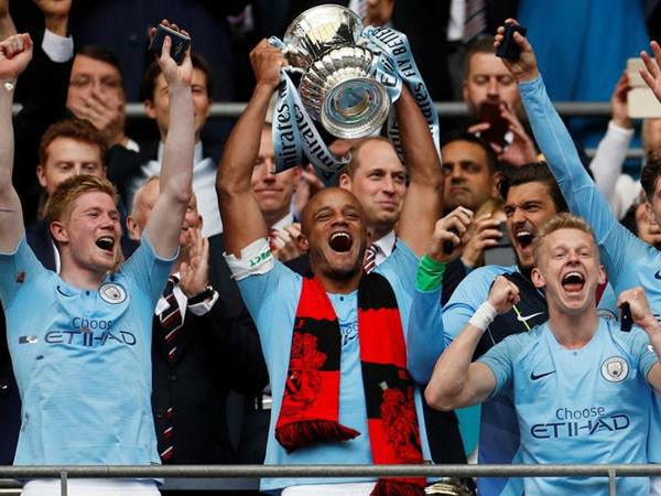 Manchester City Thrashes Watford And Won Fa Cup