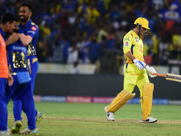 Ipl 2019 Mi Vs Csk Benefit Of Doubt Not Given To Dhoni In The Controversial Run Out