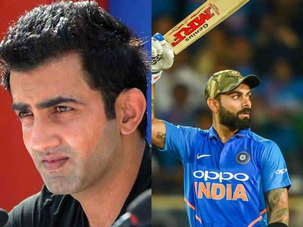 Ipl 2019 Gautam Gambhir Says Virat Kohli Should Not Be Compared Wit Rohit Or Dhoni