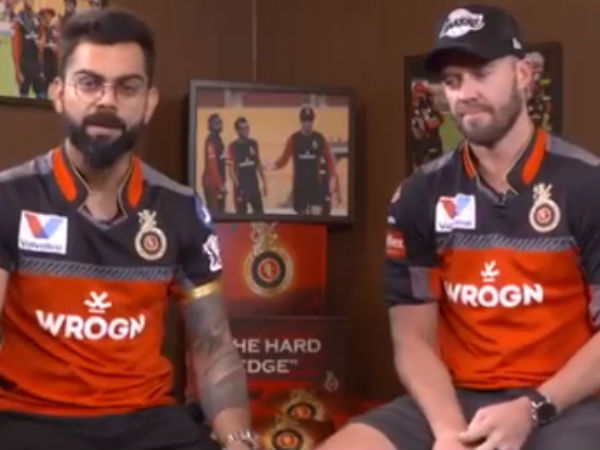 Ipl 2019 Rcb Vs Rr Rcb Stars Virat Kohli And Ab De Villiers Asks Support From Fans