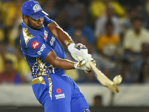 IPL 2019 MI vs CSK : Kireon Pollard showed dissent at umpire decision and was fined 25%