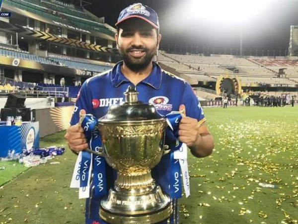 Ipl 2019 Mi Vs Csk Rohit Sharma Becomes First Player To Be In 5 Ipl Final Victory