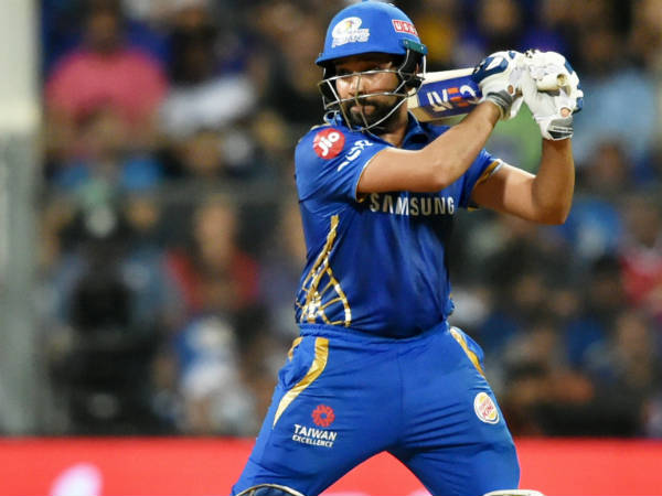 Rohit sharma's unique celebration, dedicates his fifty to daughter samaira