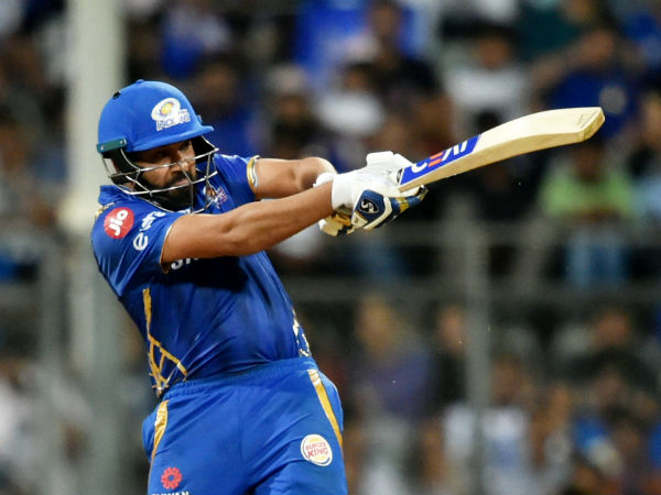 IPL 2019 MI vs CSK : Rohit Sharma hit six and ball disappeared among fans