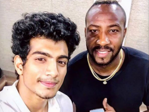 Andre russell enters in to bollywood cinema