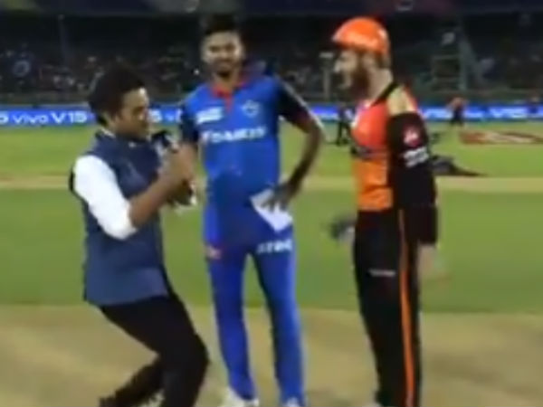 Delhi capitals captain shreyas iyer very eager to toss, video goes viral