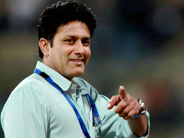 Ind Vs Nz Cricket World Cup 2019 Anil Kumble Says England Could Have Used More Covers