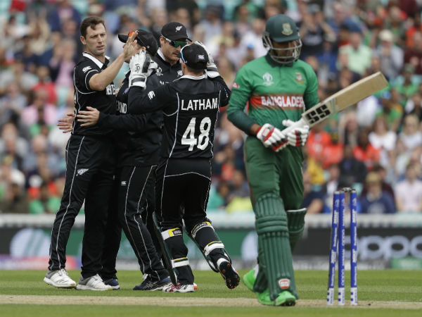 Ban Vs Nz Cricket World Cup 2019 Bangladesh Vs New Zealand Match Report