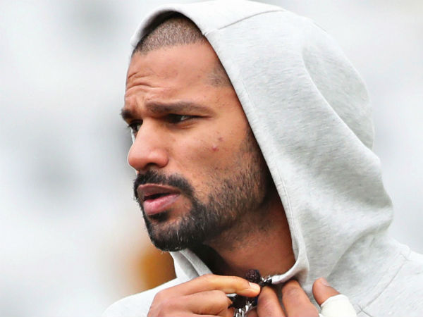 Shikhar Dhawan Feeling Very Sad In India S Net Practice Sess