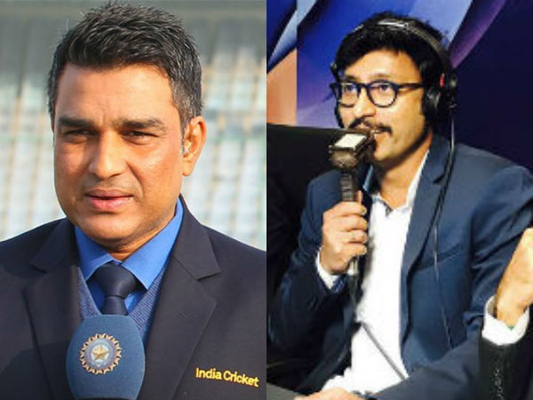 Ind Vs Ban Cricket World Cup 2019 Rj Balaji Trolls Sanjay Manjrekar In Live Commentary