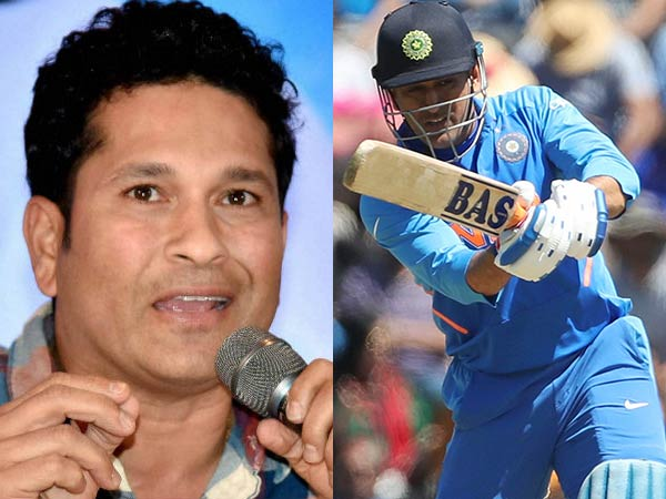 Dhoni Did The Right For The Team Against Bangladesh Says Sachin
