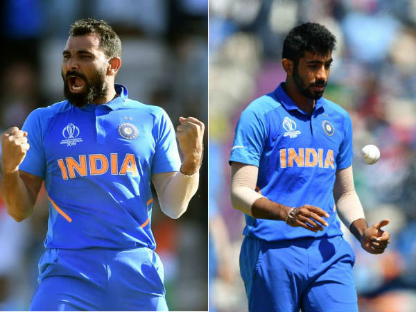 Cricket World cup 2019 : Bumrah and Mohammed Shami are a strike force of India