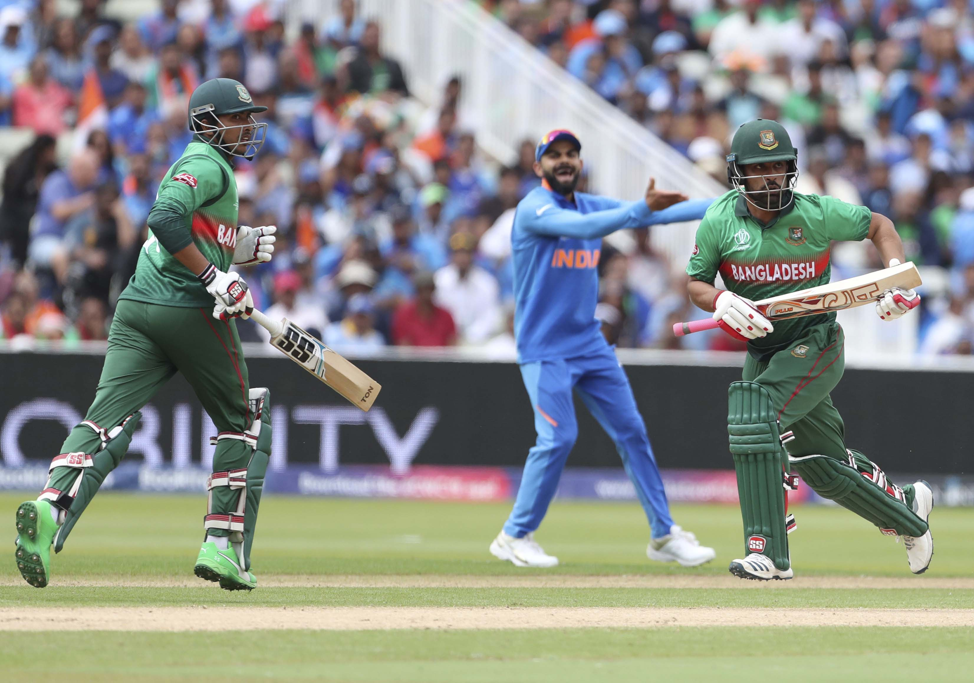 Ind Vs Ban Cricket World Cup 2019 Bangladesh Fights Back India Till The End