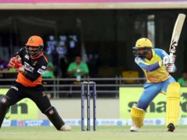 TNPL 2019 : Dindigul Dragons beat Trichy Warriors by 5 wickets