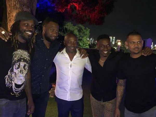 West indies former player lara arranged a dinner for indian players