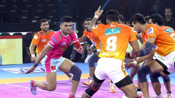Pro Kabaddi League 2019 Jaipur Pink Panthers Vs Puneri Paltan Match Result