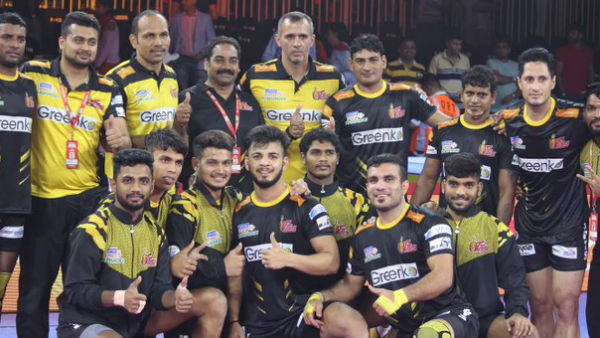 Pro Kabaddi League 2019 : Telugu Titans vs Haryana Steelers match result