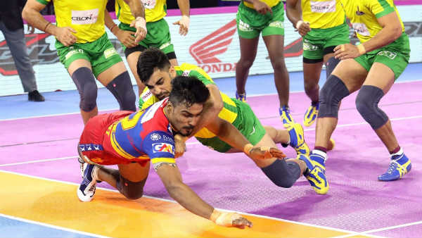 Pro Kabaddi League 2019 : UP Yoddha vs Tamil Thalaivas 101th match result