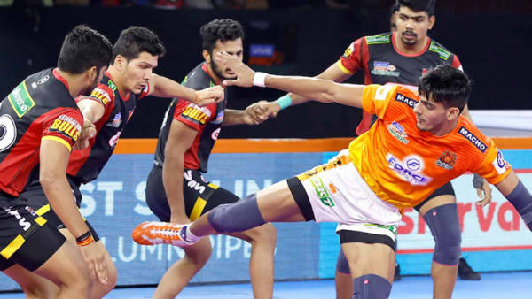 Pro Kabaddi League 2019 : Puneri Paltan vs Bengaluru Bulls 99th league match result