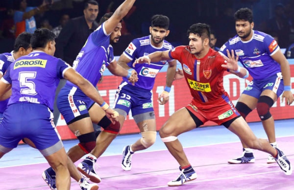 Pro Kabaddi League 2019 : Dabang Delhi vs Haryana Steelers 79th match result