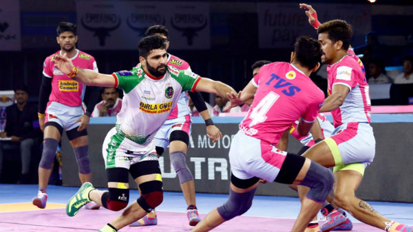 Pro Kabaddi League 2019 Jaipur Pink Panthers Vs Patna Pirates 86th League Match Result