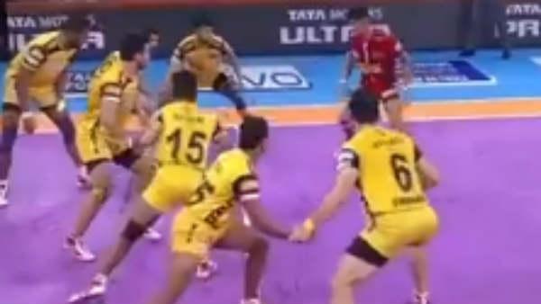 PKL 2019 : டபாங் டெல்லி மீண்டும் வெற்றி.. தெறிக்கவிட்ட நவீன் குமார்.. தெலுகு டைட்டன்ஸ் தோல்வி!