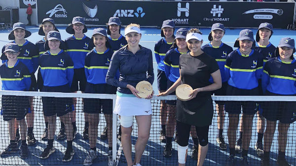 Sania Mirza Pleasantly Surprised About Her Winning In Hobart International Trophy