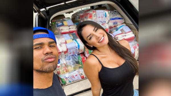 Douglas Costa Helps Poor People In Brazil