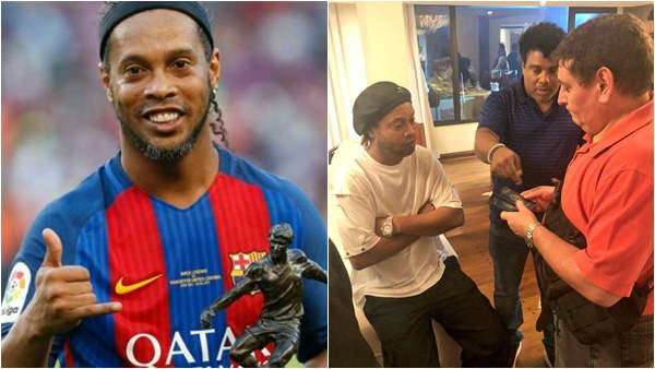 Ronaldinho Put Under House Arrest In Paraguay