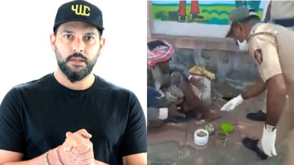 Yuvraj Singh Praises Policemen For Sharing Their Own Food
