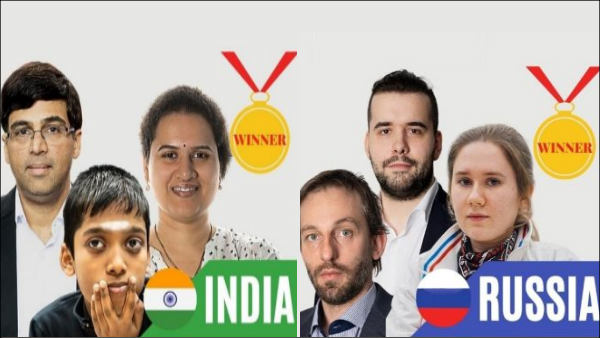 Chess Olympiad Final : India, Russia announced as Joint winners