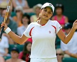 Sports Sania Retired Hurt In First Round Of Qatar