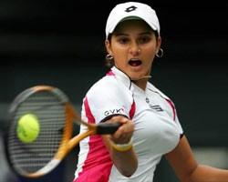 Sports Sania Advances To 2nd Round Of The East