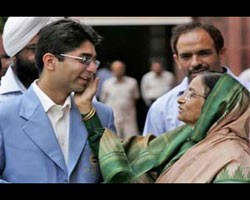 Sports Abhinav Bindra Returns With Hero Welcome
