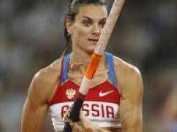 Sports Pole Vault Queen Isinbaeva Lost Championshi