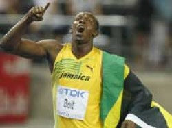 Sports Bolt Creates History In 200 M Also