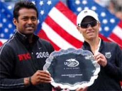Sports Paes Duo Lost Us Open Mixed Doubles