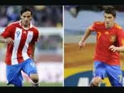 Football Spain Paraguay