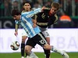 Football Argentina Germany