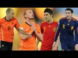 Football Finals Netherlands Spain