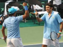 Sports Davis Cup Paes Raja Keep India Hope Alive Against Korea