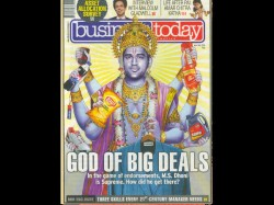 Sports Case Against Dhoni Posing As Hindu God